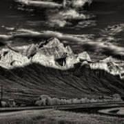 Mountain Canmore Art Print