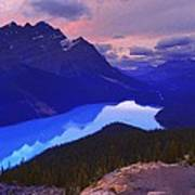 Mountain Scenery Art Print