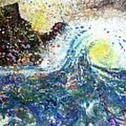 Mountain Wave Art Print