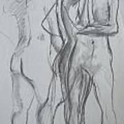 Movement Study Art Print