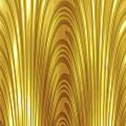 Moveonart Goldlight Art Print