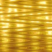 Moveonart Goldlightdream Art Print