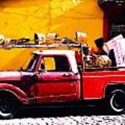 Moving Day Oaxaca Art Print