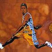 Mr Assist Steve Nash Art Print