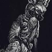 Mr. Big Ears Art Print