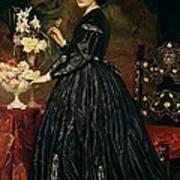Mrs James Guthrie Art Print