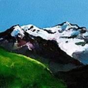 Mt Aspiring Art Print