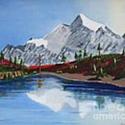 Mt Challenger Art Print