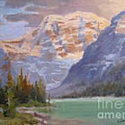 Mt Edith Cavell Jasper Art Print