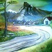 Mt. Of Hope Art Print