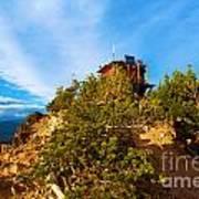 Mt Scott Fire Tower Art Print