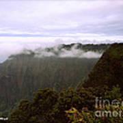 Mt Waialeale Art Print