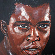 Muhammad Ali Formerly Cassius Clay Art Print