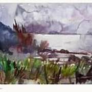 Muhu Island II Art Print