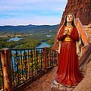 Mujer De La Piedra Art Print