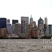 Multi Color Nyc Buildings Art Print