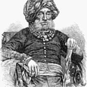 Mummadi Krishnaraja Wadiyar Art Print