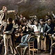 Munkacsy: Strike, 1895 Art Print