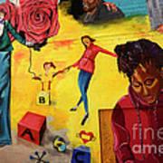 Mural San Francisco Art Print