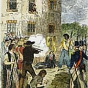 Murder Of Joseph Smith Art Print