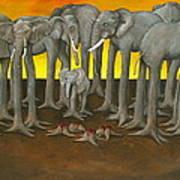 Murder The Wise Oh Ganesha Art Print by David  Nixon