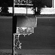 Murfreesboro Mailbox Art Print