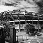 Murrayfield Stadium Edinburgh Rugby Scotland Art Print by Joe Fox