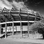 Murrayfield Stadium Edinburgh Scotland Rugby Art Print