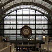Musee D'orsay's Clock Art Print