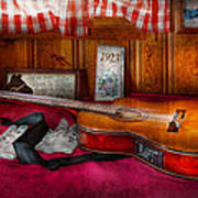 Music - Guitar - That Old Country Feel Art Print