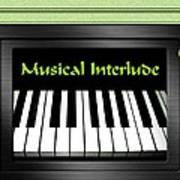 Musical Interlude   Art Print