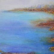 Muskoka Rocks Art Print