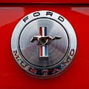 Mustang Emblem Art Print