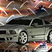 Mustang Saleen  Art Print
