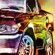 Mustang_2 Art Print by Whitney Bruneau