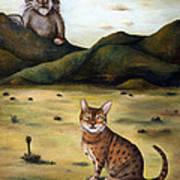 My Cats Worst Nightmare Art Print
