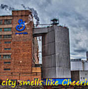 My City Smells Like Cheerios Art Print