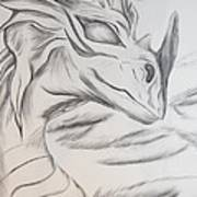 My Dragon Art Print