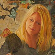 My Face At 50 Art Print