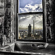 My Favorite Channel Is Manhattan View Art Print by Madeline Ellis