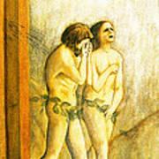 My Masaccio Expulsion Of Adam And Eve Art Print