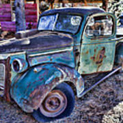 My Old Truck Art Print by Garry Gay