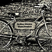 My Other Bike Is A Harley Davidson In Sepia Art Print