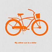 My Other Car Is Bike Art Print
