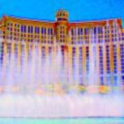 My Vegas Bellagio 2 Art Print