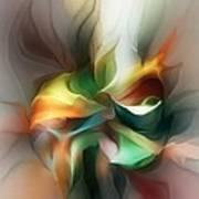 Mysterious Bloom Art Print