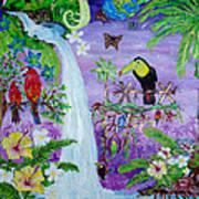 Mysterious Jungle Art Print