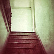 Mysterious Stairway Art Print