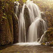 Mystic Waterfall Art Print