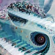 Mystical Keys Art Print